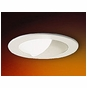 4-Inch Low Voltage Recessed Lighting Trim with Adjustable Wall Wash and White Reflector