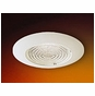 4-Inch Low Voltage Recessed Lighting Trim with Fresnel Lens for Shower