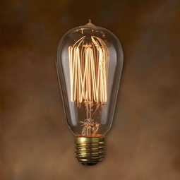 40 Watt - Antique Light Bulb - ST18 Signature - Medium Base - Bulbrite Nostalgic