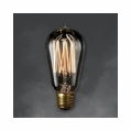 40 Watt - Antique Light Bulb - ST18 Signature - Medium Base - Bulbrite Nostalgic Smoke