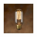 40 Watt - Antique Light Bulb - T14 Tubular - Medium Base - Bulbrite Nostalgic