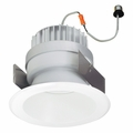 5-Inch LED Dimmable Retrofit Module for Recessed Lights, 650 Lumens, 11.8W, Damp Location, Reflector Trim