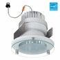 5-Inch LED Dimmable Retrofit Module for Recessed Lights, 650 Lumens, 11.8W, Wet Location, Decorative Glass Trim