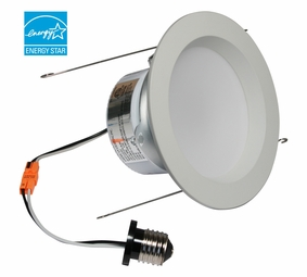 5-Inch LED Dimmable Retrofit Module for Recessed Lights, 700 Lumens, 9.6W, Damp Location