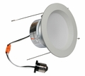 5 Inch - 9.6 Watt - 65 Watt Replacement - Dimmable LED Downlight Retrofit Module - E26 Medium Base - Damp Location - American Lighting