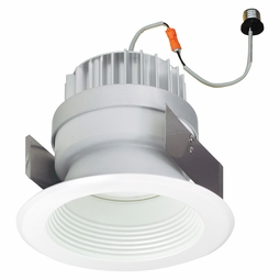 5-Inch LED Dimmable Retrofit Module for Recessed Lights, 981 Lumens, 14.6W, Damp Location, Baffle Trim