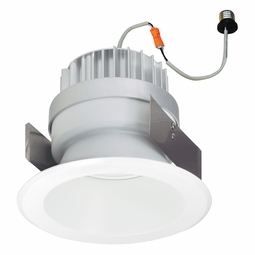 5 Inch - 14.3 Watt - 85 Watt Replacement - Dimmable LED Downlight Retrofit Module - Reflector Trim - E26 Medium Base - Wet Location - Nora Lighting