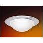 5-Inch Line Voltage Recessed Lighting Shower Trim with Frosted Glass Dome