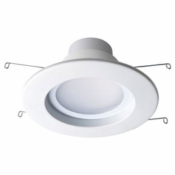 6 Inch - 14 Watt - 95 Watt Replacement - Dimmable LED Downlight Retrofit Module - E26 Medium and GU24 Base - Damp Location - Bulbrite