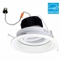6-Inch Adjustable LED Dimmable Retrofit Module for Recessed Lights, 700 Lumens, 11W, Wet Location, Regressed Baffle Trim