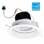 6-Inch Adjustable LED Dimmable Retrofit Module for Recessed Lights, 700 Lumens, 12.55W, Wet Location, Regressed Reflector Trim