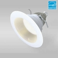 6-Inch LED Dimmable Retrofit Module for Recessed Lights, 575 Lumens, 9.5W, 2700K, Wet Location
