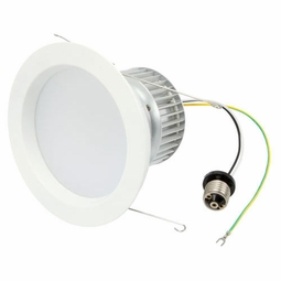 6 Inch - 12.9 Watt - 60 Watt Replacement - Dimmable LED Downlight Retrofit Module - E26 Medium Base - Damp Location - American Lighting