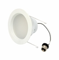 6-Inch LED Dimmable Retrofit Module for Recessed Lights, 630 Lumens, 14.2W, 3000K, Damp Location