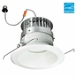 6-Inch LED Dimmable Retrofit Module for Recessed Lights, 650 Lumens, 11.8W, Damp Location, Reflector Trim