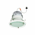 6 Inch - 10.55 Watt - 65 Watt Replacement - Dimmable LED Downlight Retrofit Module - Decorative Glass - E26 Medium Base - Wet Location - Nora Lighting