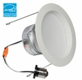 6-Inch LED Dimmable Retrofit Module for Recessed Lights, 690 Lumens, 9.7W, Damp Location