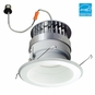 6-Inch LED Dimmable Retrofit Module for Recessed Lights, 981 Lumens, 14.6W, Damp Location, Baffle Trim