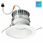 6-Inch LED Dimmable Retrofit Module for Recessed Lights, 987 Lumens, 14.3W, Damp Location, Reflector Trim