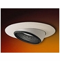 6-Inch Line Voltage Recessed Lighting Trim with Adjustable Baffle Eyeball for Sloped Ceilings