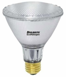 60 Watt - 75 Watt Replacement - Energy Efficient Halogen Light Bulb - PAR30 Long Neck - Bulbrite