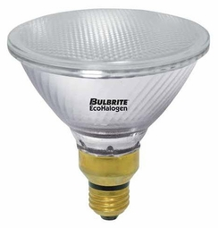 60 Watt - 75 Watt Replacement - Energy Efficient Halogen Light Bulb - PAR38 - Bulbrite