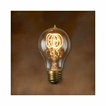 60 Watt - Antique Light Bulb - A19 Victorian - Medium Base - Bulbrite Nostalgic