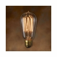 60 Watt - Antique Light Bulb - ST18 Signature - Medium Base - Bulbrite Nostalgic