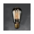 60 Watt - Antique Light Bulb - ST18 Signature - Medium Base - Bulbrite Nostalgic Smoke