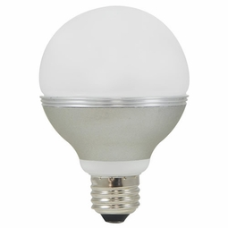 8 Watt - 40 Watt Replacement - Dimmable LED Light Bulb - G25 Globe - Medium Screw Base - Maxlite