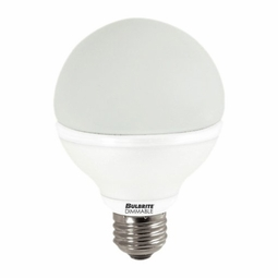 8 Watt - 60 Watt Replacement - Dimmable LED Light Bulb - G25 Globe - Medium Screw Base - Bulbrite