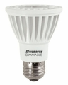 8 Watt - 50 Watt Replacement - Dimmable LED Light Bulb - PAR20 - Narrow Flood - Bulbrite