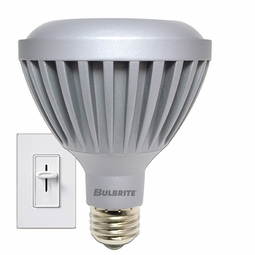 9 Watt - 50 Watt Replacement - Dimmable LED Light Bulb - PAR30 - Narrow Flood - Bulbrite