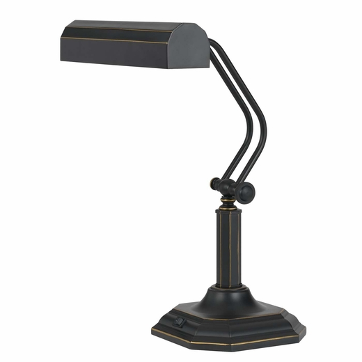 Adjustable LED piano desk lamp