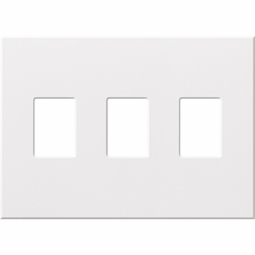 Architectural Three Gang Wallplates for Lutron Dimmers