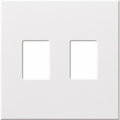 Architectural Two Gang Wallplates for Lutron Dimmers