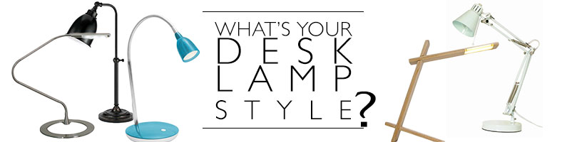 What is your desk lamp style?