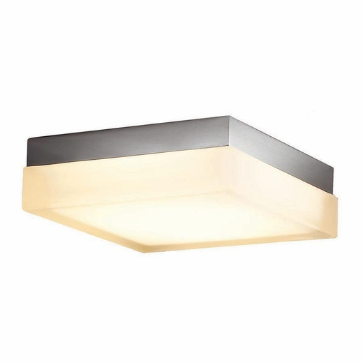 Led Lighting Fixtures : Dice LED Square Ceiling Mount Light Fixture, WAC Lighting