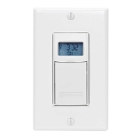 Intermatic Digital Auto Shut-Off In-Wall Timer