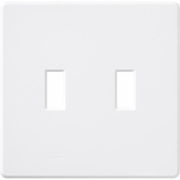 Fassada Two Gang Wallplates for Lutron Dimmers