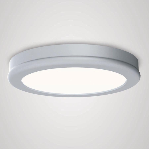 Led Lighting Fixtures : Geos LED Round Ceiling Mount Light Fixture, WAC Lighting
