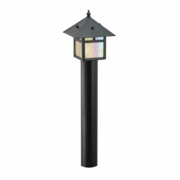 Halogen 20-Watt 12-Volt Landscape Lantern Area Light with Mounting Stake
