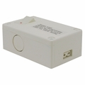 Hardwire Box with Rocker Switch for 2-Wire Microfluorescent Lights