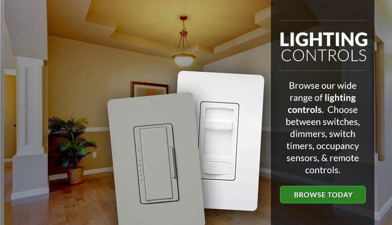 We offer a wide range of lighting controls.