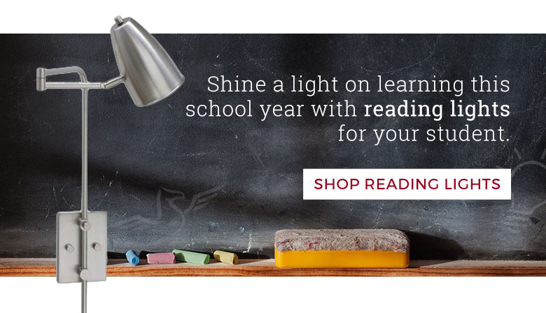 Shine a light on learning this school year with reading lights.