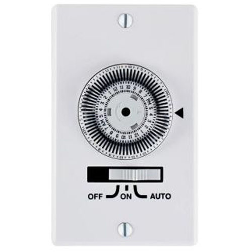 intermatic 24 hour electromechanical in wall timer. Black Bedroom Furniture Sets. Home Design Ideas
