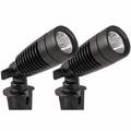 LED 1-Watt 12-Volt Metal Landscape Floodlights (2 Pack)
