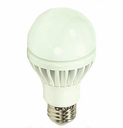 8 Watt - 40 Watt Replacement - Dimmable LED Light Bulb - A19 - Satco KolourOne