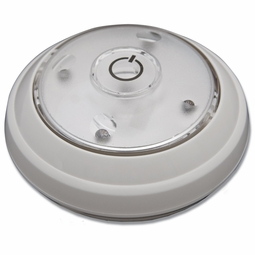 LED Battery Operated Puck Light with Hi/Lo/Off Push Button