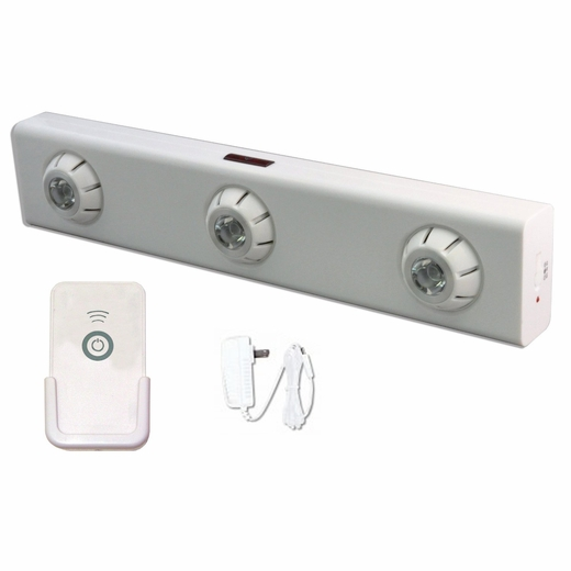 LED Battery Operated Ultra Bright Under Cabinet Light With Remote Control And